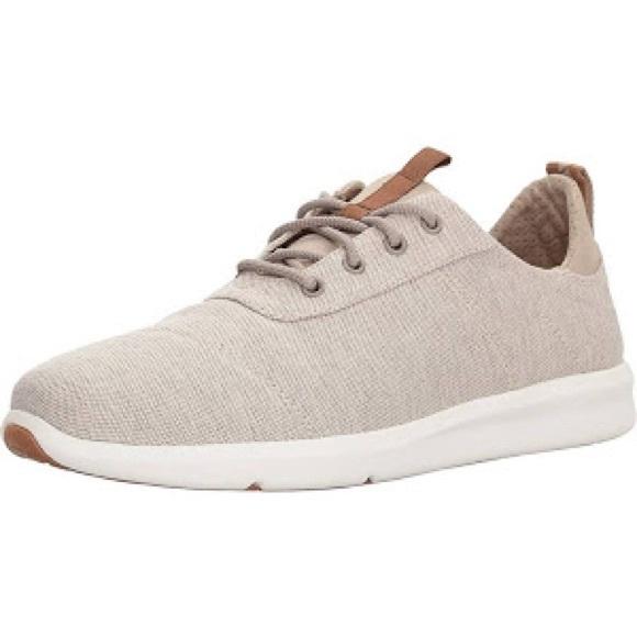 07544eff4e6 Men s Toms Carrillo Sneakers Size 10.5 Khaki
